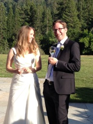Michelle Breneman and Jonathan Borchardt at their wedding