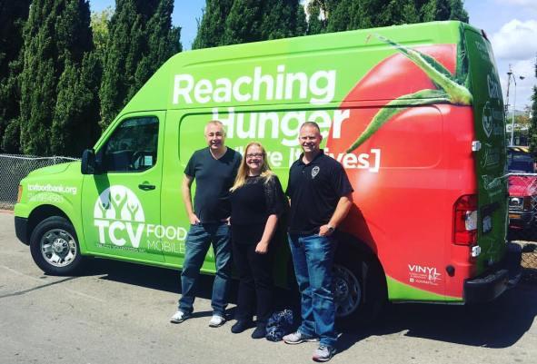Tri-City Volunteers Food Van